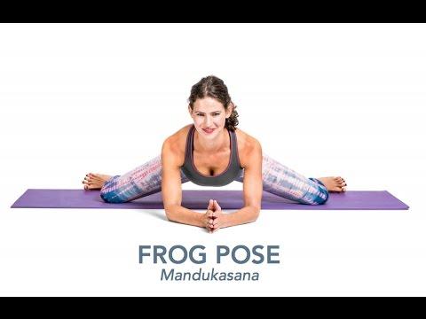Yoga Poses & Articles | Frog Pose (Mandukasana)