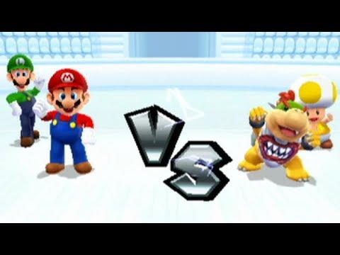Mario Sports Mix - Basketball - Flower Cup (Hard)