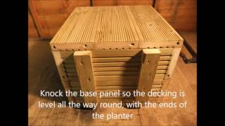 Here is a tutorial on how to build a wooden planter out of decking. Looks great and so easy to do! Please visit ...