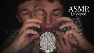 ASMR Layered Mouth & Keyboard (Sleep-Inducing)