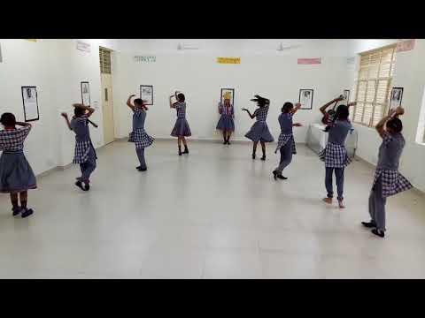 Saraswati Vandana Classical Dance Veena Vadini Var De KV Kendriya Vidyalaya Mohali 