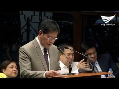 Senator Lacson bares systemic corruption in Bureau of Customs
