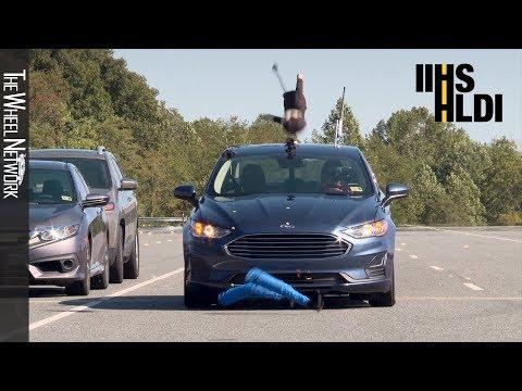 IIHS Pedestrian Autobrake Tests – Audi, Ford, Hyundai, Kia, Mercedes-Benz, Nissan, Subaru