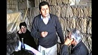 Pasquetta 1993 con mamma Lucia e i miei fratelli a Civita Castellana