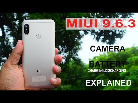 Redmi Note 5 Pro - Miui 9.6.3 #camera#battery#drain#all Test