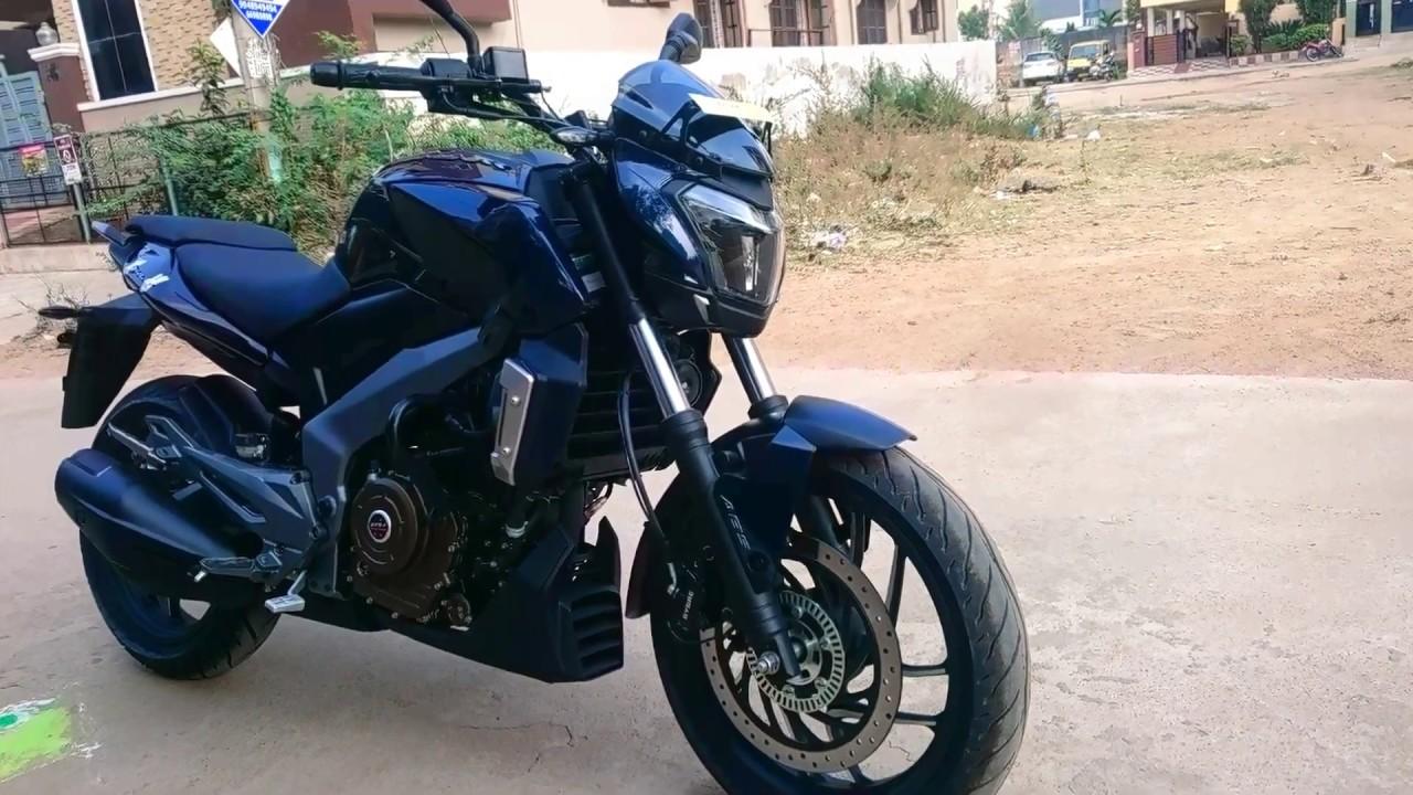 Bajaj Dominar 400 In Midnight Blue Colour Hot