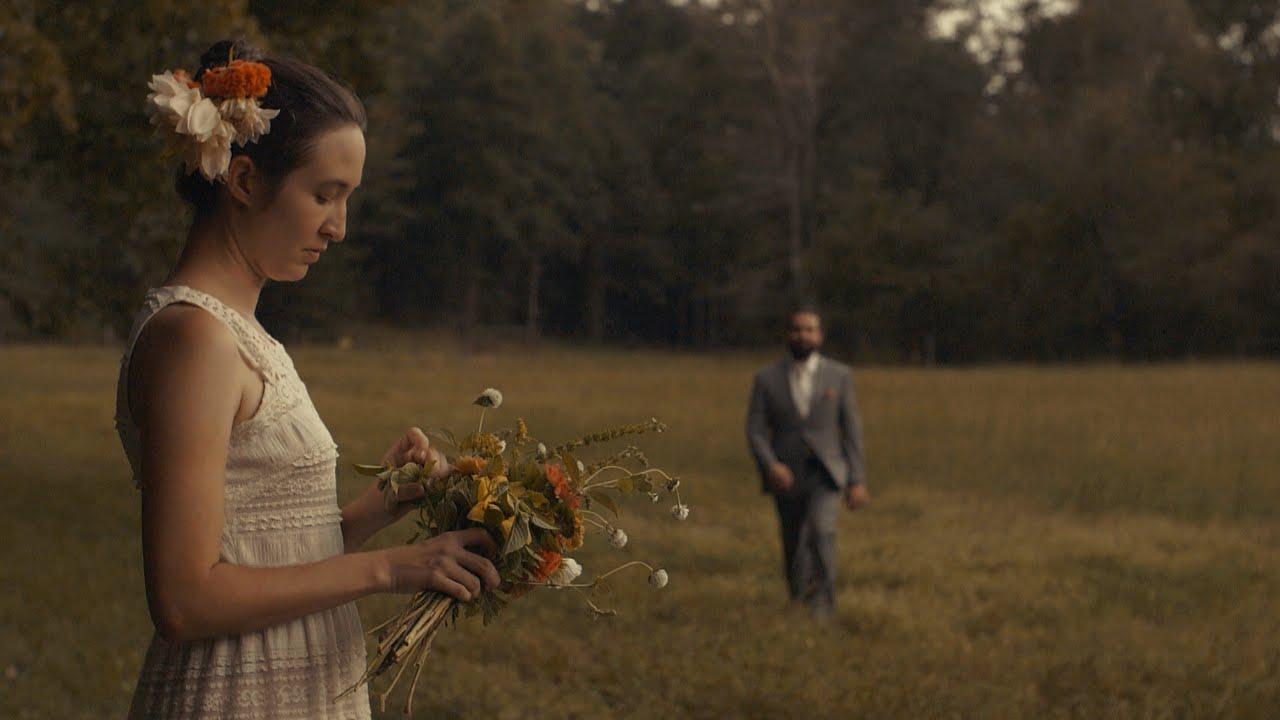 Thunder & Lightening Romance Wedding Video   Bride and Groom DIY Backyard Wedding - Mills River, NC