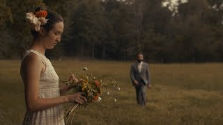 THUNDER & LIGHTNING Romance Wedding Video // Bride and Groom DIY Backyard Wedding - Mills River, NC