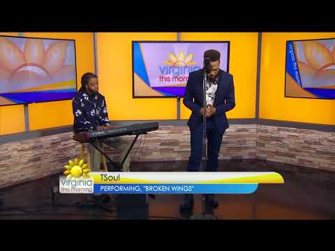 TSoul Performs Broken Wings on CBS 6 : Virginia This Morning