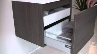 Fvn8006go - Fresca Nano Gray Oak Modern Bathroom Vanity W/ Medicine Cabinet