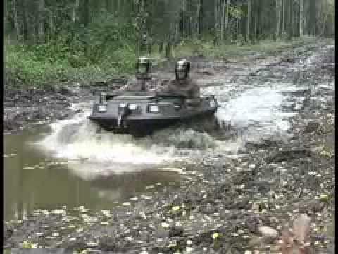 Amphibious All-terrain Vehicle in Mud - ARGO Amphibious Vehicles (ATV)