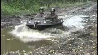 Amphibious All-terrain Vehicle in Mud - ARGO Amphibious Vehicles (ATV)