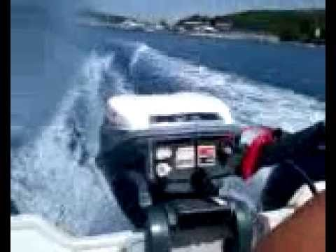 Restored Evinrude 9 5 Sportwin With Honwave