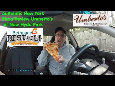 Umbertos Of New Hyde Park LI Pizza Review | JKMCraveTV