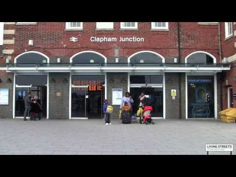 Wandsworth Living Streets - Brighton Yard entrance to Clapham Junction station