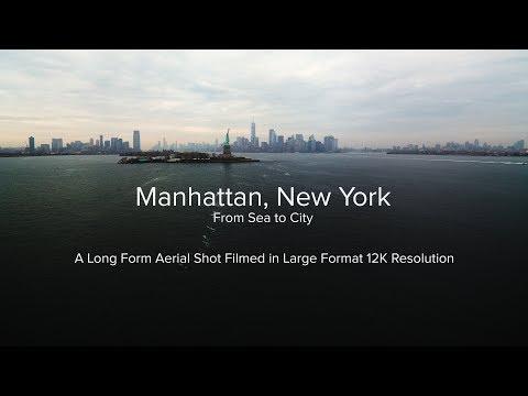 Manhattan, New York  Sea To City  Filmed in 12K