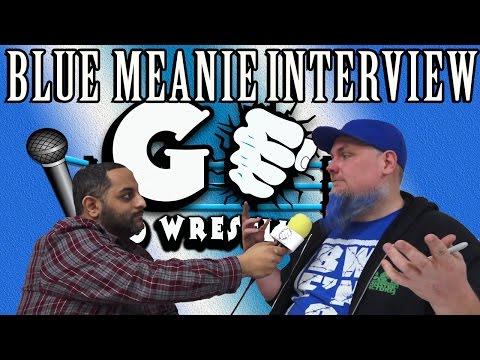 Blue Meanie Interview | GO Pro Wrestling