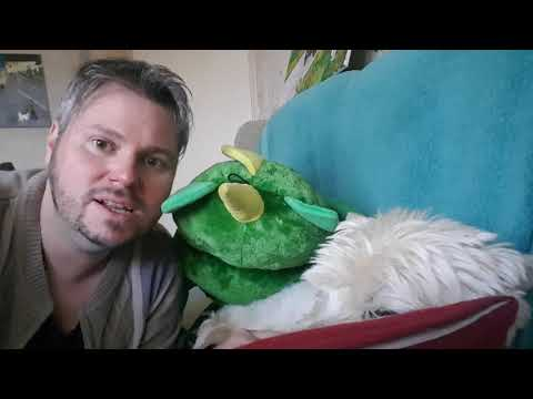 ASMR with Callum the Westie Dog - Thank You message ☆ Calming Male Voice