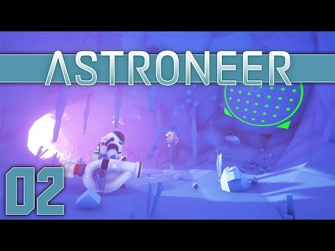 Astroneer Gameplay - Ep 2 - Research Station (Let's Play Astroneer Gameplay)