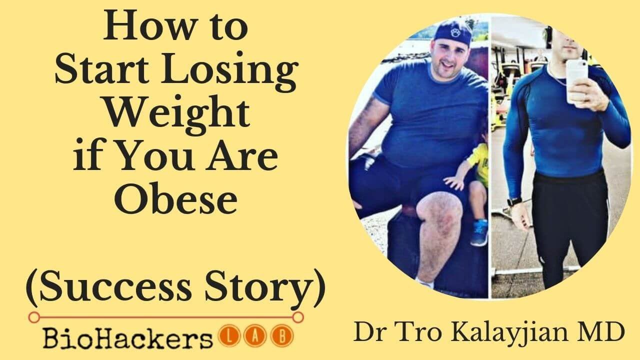 starting weight loss for obese