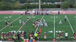 #9 Paul Harris ( WR ) ~ Senior Season Varsity Football Highlights ~ Frederick Douglass High School