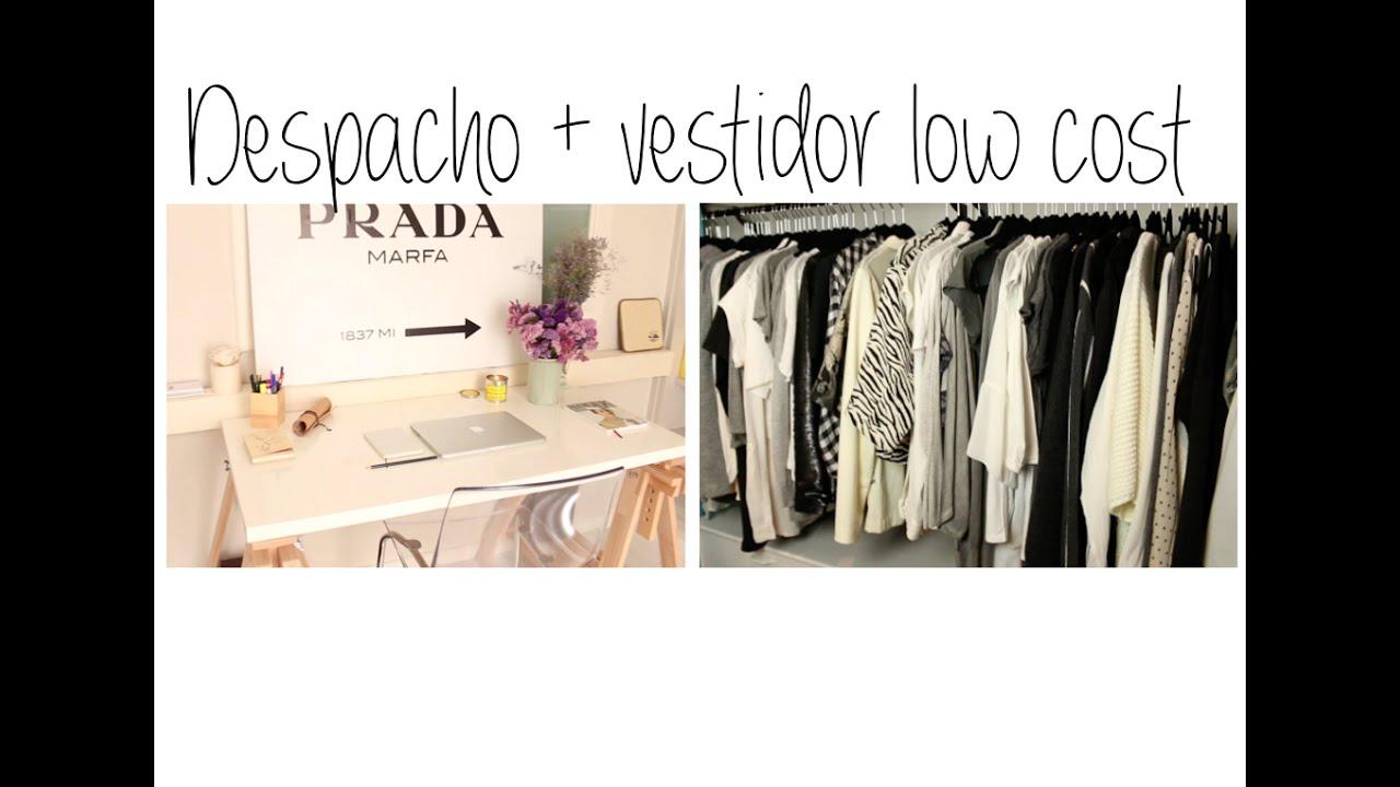 Como crear un vestidor low cost ii youtube for Decoracion low cost
