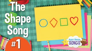The Shape Song #1 | Super Simple Songs