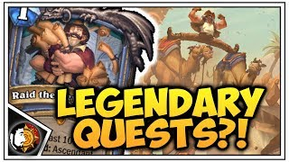 New Saviors Of Uldum Cards - Legendary Quests Are Back!