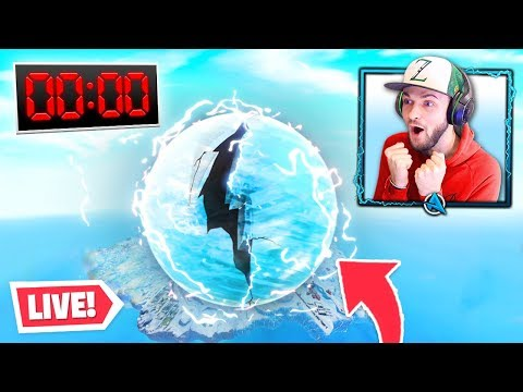 Fortnite ICE STORM Event - HAPPENING NOW!