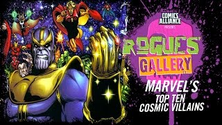 10 Greatest Marvel Cosmic Villains - Rogues' Gallery