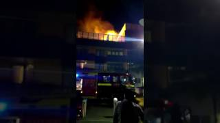 Shadwell fire east london 16th june 2017