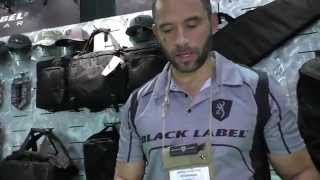 New Browning Black Label Knives with Officer Jared: SHOT Show 2015