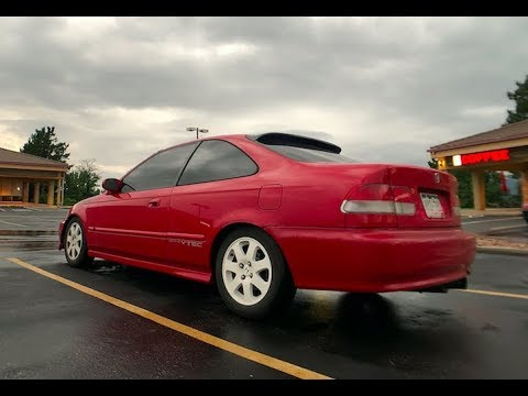 2000 Civic Si EM1 Review! Ricer Or Sleeper?