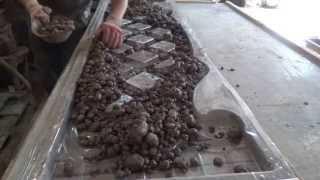 Заливка бетоном формы евро-забора из ПВХ прозрачного.Харьков Будформа(, 2013-05-16T23:46:12.000Z)