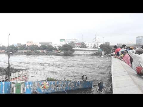Kasi theatre bridge - chennai floods 2015 - OMG! | PART-1