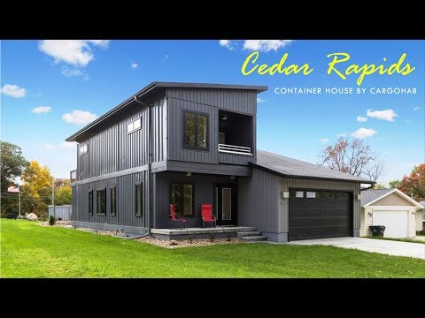 Shipping Container Home in Cedar Rapids, Iowa by Cargohab