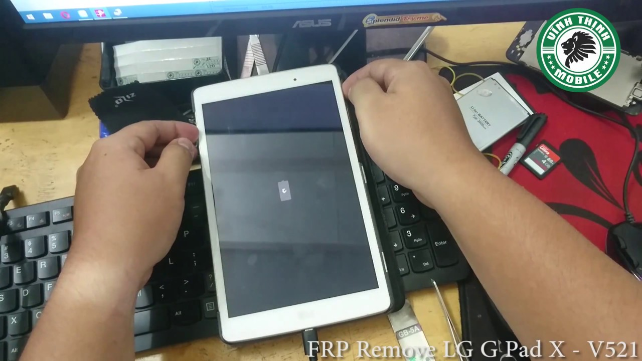 FRP Remove LG G Pad X 8 0 (LG-V521)