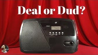 GPX R633B AM FM Shortwave Portable Radio Unboxing & Review