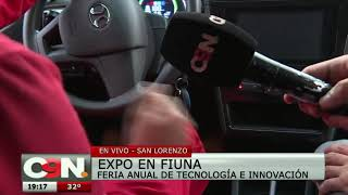 Exponen auto eléctrico en la feria anual de Tecnología e Innovación
