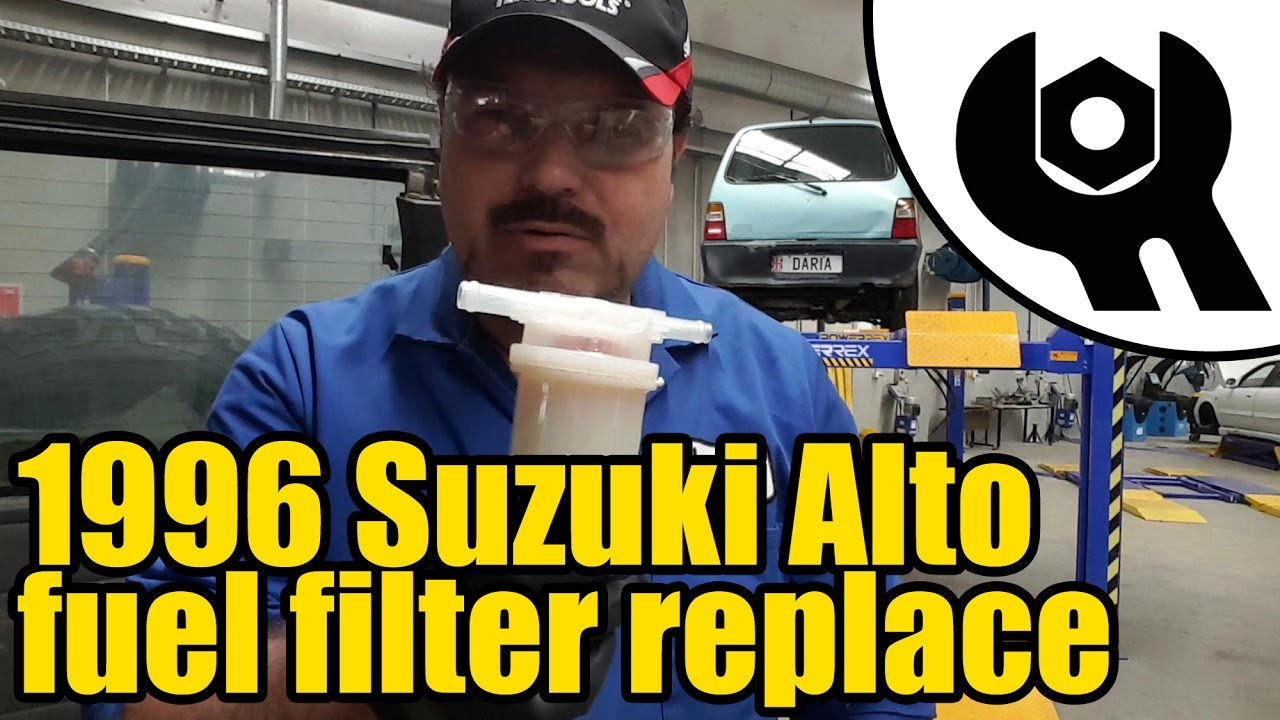 1996 Suzuki Alto Fuel Filter Replacement 1819 Youtube 96 Chevrolet 1500 Location