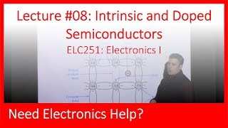 ELC251-08: Intrinsic and Doped Semiconductors (Ch03, Lect08)