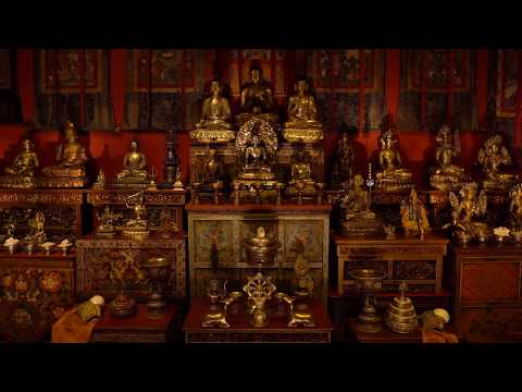 Tibetan Buddhist Shrine