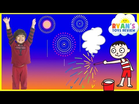 Thumbnail: Playing with Fireworks Family Fun Night 4th of July Ryan ToysReview