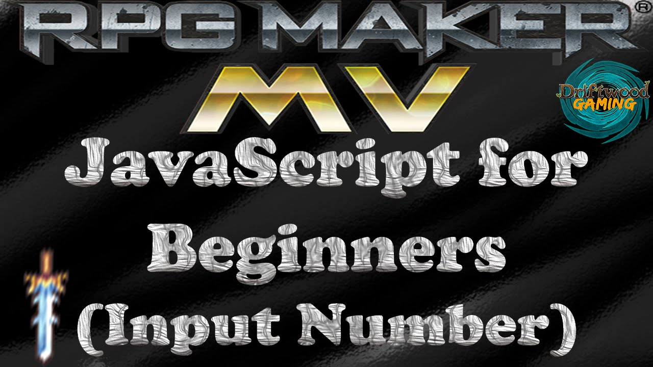 RPG Maker MV Tutorial JavaScript for Beginners (Input Number)