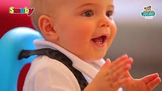 Babytaxiu cu leagăn Maestro II Balade Smoby cu vol