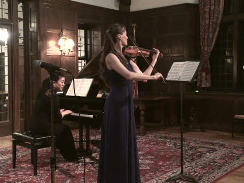 Beethoven Kreutzer Sonata mvt.1 ~ Claudia Schaer, Emi Kagawa
