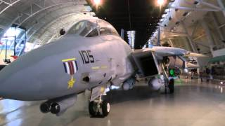 Grumman F-14D(R) Tomcat at Smithsonian