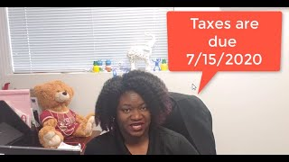 Tax Tip Thursday – 2020 Tax Deadline