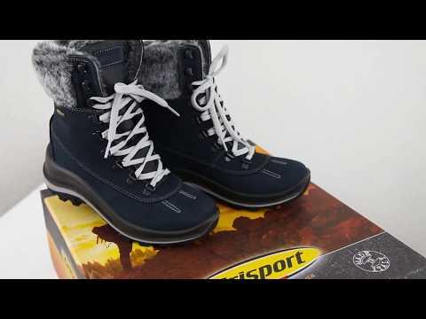 Брендовая обувь Grisport - Высокие ботинки женские 12303N56
