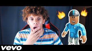ROBLOX MUSIC VIDEO - KaelinOnGames DOES A DISS TRACK ON ME!?! *RESPONSE/REACTION*